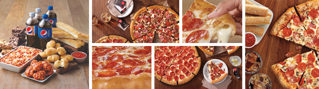 Pizza Hut food